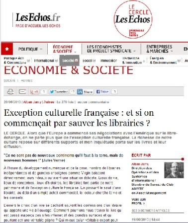 Exception culturelle française : et si on commençait par sauver les librairies ?