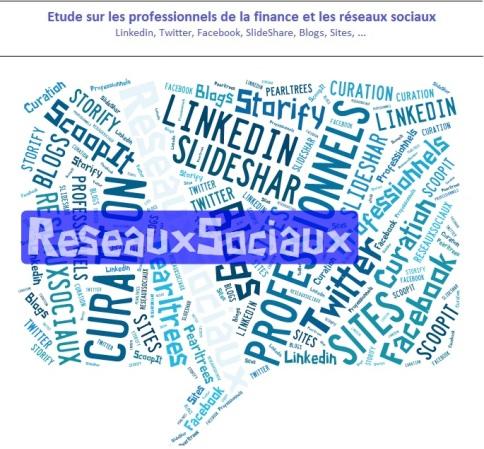 étude sur les professionnels de la finance et les réseaux sociaux (Linkedin, twitter, facebook, slideshare, ...)