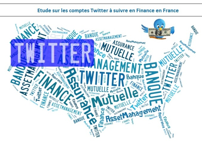 une sélection de 200 comptes Twitter en Banque Finance Assurance en France