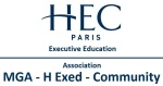 Logo - MGA H Exed Community - Management General Avance HEC Paris