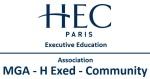 Logo - MGA H Exed Community - Management General Avance HEC Paris