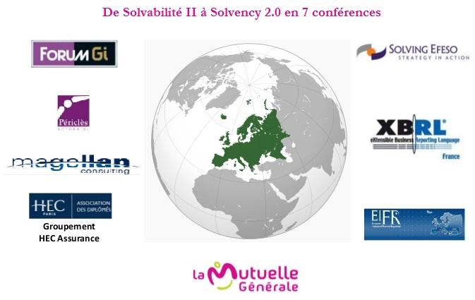 De Solvabilité II à Solvency 2.0 un état des lieux en 7 conférences par alban jarry