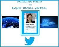 Twittos en Banque Finance Assurance - Portrait #2 - @Mi_Weinberg (Mireille Weinberg) par alban jarry