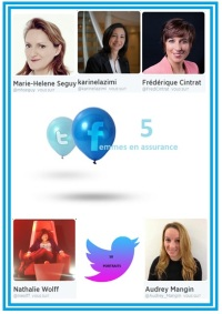 Twitter 5 femmes assurance