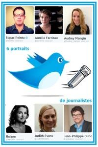 Twitter 6 journalistes