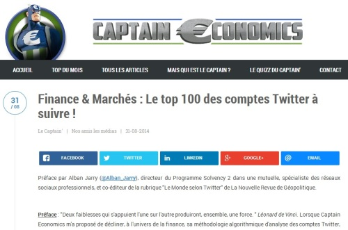 Top 100 comptes twitter finance - captain economics