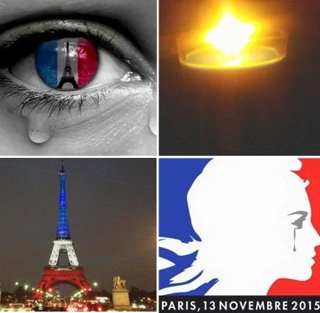 Paris pleure sur les réseaux sociaux - alban jarry