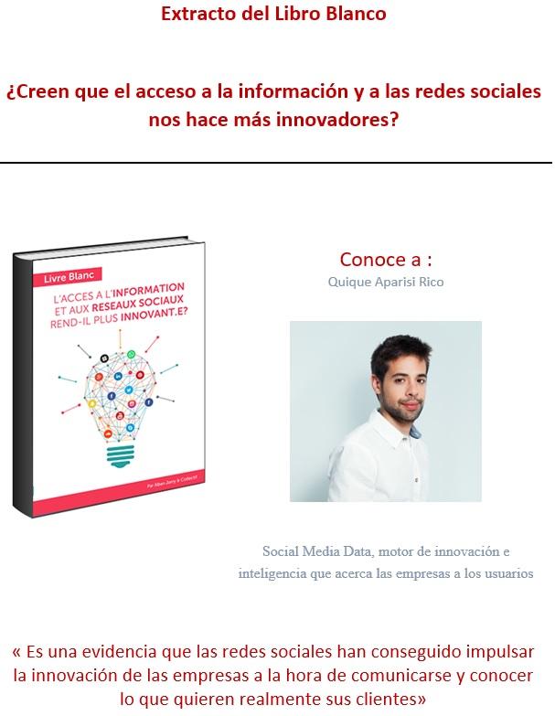 Social Media Data  Motor De Innovaci U00f3n E Inteligencia Que